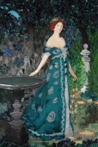 """""""Duquesa de Sutherland"""". Sargent. Museo Thyssen. Madrid."""