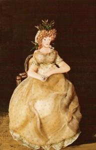 """""""Condesa de Chinchón"""". Goya. Museo del Prado. Madrid."""