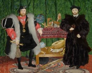 Los Embajadores. Hans Holbein el joven. National Gallery. Londres.