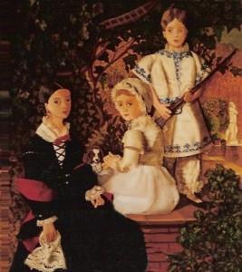 """""""Los Hijos de Madrazo"""". Madrazo. Museo del Prado. Madrid."""